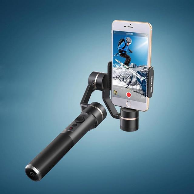 Presentes Feiyu 3 Eixos Cardan Handheld Estabilizador com Horizontal/Vertical Modo de Tela para Smartphones para Show Ao Vivo de Vídeo Gravação