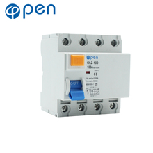 цены Leakage Circuit Breaker 100A 30mA AC Type Residual Current Circuit Breaker for Leakage and Short Circuit Protection