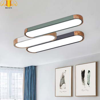 RAVEN Iron macarons Dimmable Led Ceiling Lights Living Room Led Ceiling Light Fixture