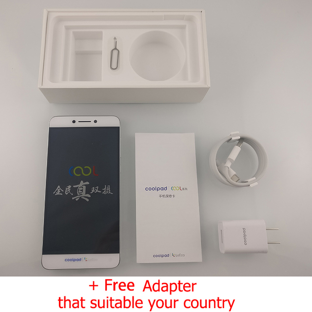 Original Letv Cool1 Dual Pro Leeco Coolpad Cool 1 Mobile Phone 3GB RAM 32GB 5.5″ FHD 13MP Fingerprint ID