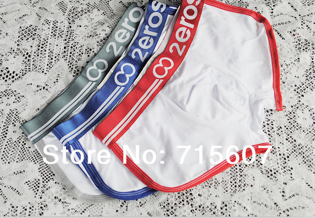 Zeros underwear for man boxer shorts boxers top quality mens underwear boxer 2 pcs a lot free shipping