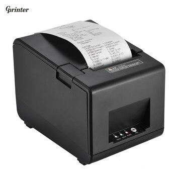 Gprinter Термальность Получения штрих-код этикетки графический принтер резца 160 мм/сек. 80 мм печати Ширина для reastaurant Кухня pos