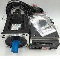 New Delta AC servo motor drive kit with brake NEMA42 1500W 1.5KW 7.16NM 2000rpm 130MM ASD B2 1521 B ECMA E21315SS & 3m Cable