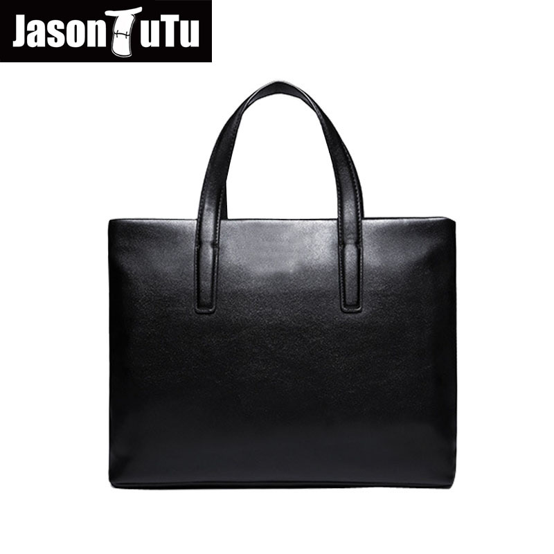 e15d84a06c96 Джейсон пачка бренд сумки мужчины сумка черный Искусственная кожа сумка 14  дюйм(ов) сумка для ноутбука Бизнес Сумки с короткими ручками h354