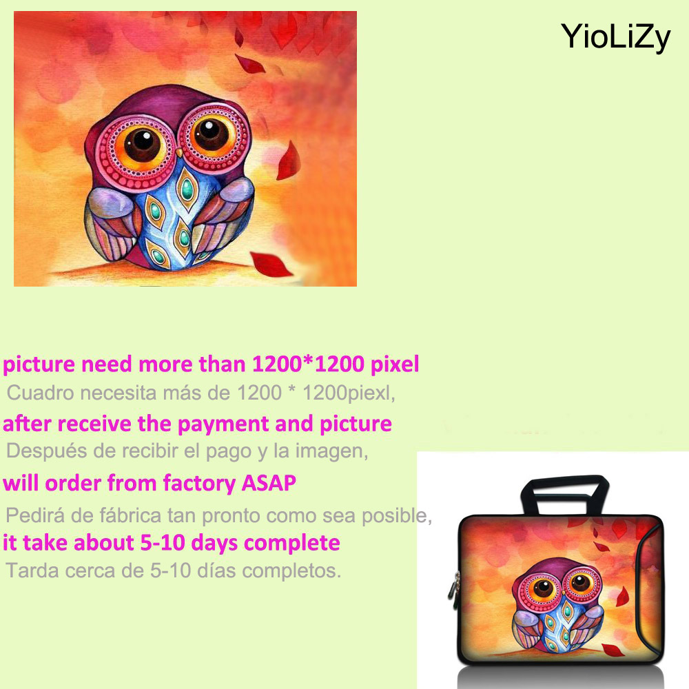 Notebook sleeve with pocket 9 7 12 13 3 14 15 4 15 6 17 17 3 women Laptop Bag men Tablet protective case cover pouch SBP 3076 in Laptop Bags Cases from Computer Office