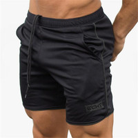 Summer Sexy mens shorts Calf Length Fitness Bodybuilding fashion Casual gyms Joggers workout Brand short pants Sweatpa AE05