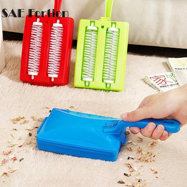 Handheld Carpet Brushes Table Sweeper Crumb Brushes Cleaner Roller Dust  Brush Home Cleaning Brush Tool Accessaries