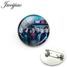 JWEIJIAO Fashion Mysteries of Riverdale Brooch Pins Badge Riverdale Brooches Jewelry For Bag Clothes Decorate MR01(China)