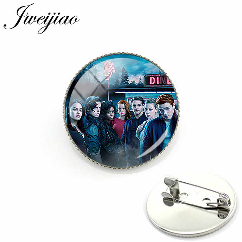 JWEIJIAO Fashion Mysteries of Riverdale Brooch Pins Badge Riverdale Brooches Jewelry For Bag Clothes Decorate MR01