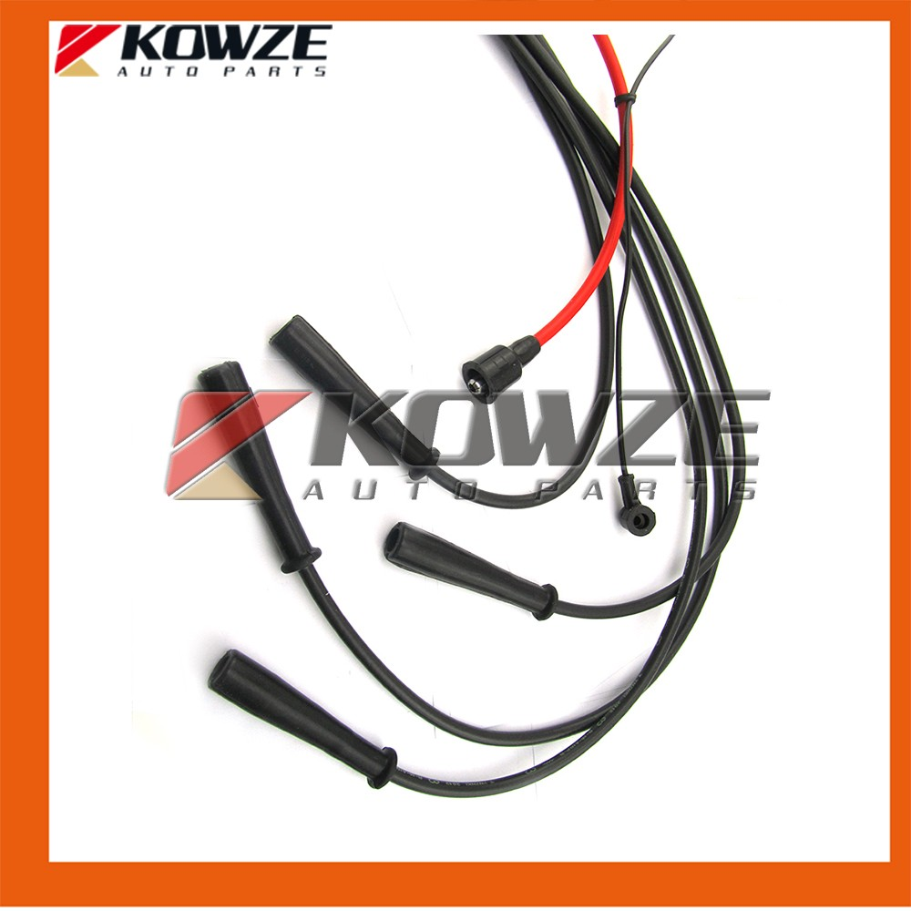 Aliexpress.com : Buy Spark Plug High Tension Cable Wires Set for Mitsubishi  Pajero Montero 2 II 1990 2000 4G54 2.6L MD997698 from Reliable set  suppliers on ...