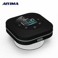 AIYIMA Taşınabilir Bluetooth Hoparlör Su Geçirmez Handfree Profil FM Saat Ve Mikrofon inşa Kablosuz Bluetooth Hoparlörler