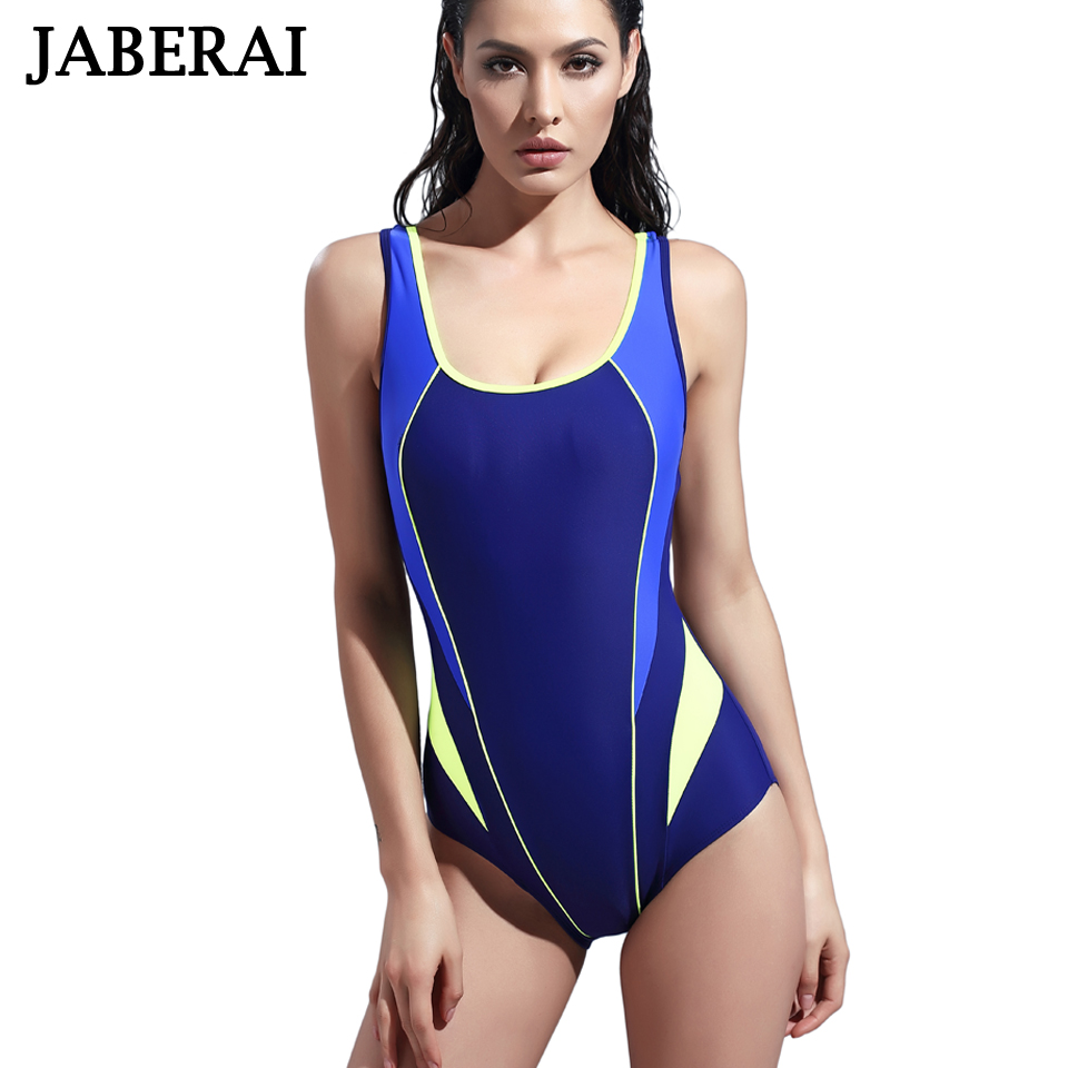 Sports Swimwear Women Sexy One Piece Swimsuit Push Up Bathing Suit 2017 Padded Training Sport Swimming Suit Summer Beachwear