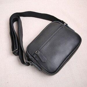 Image 2 - Aetooオリジナルミニ革男性のバッグトップ層の革のメンズ小さなバッグカジュアルな若者のショルダーバッグメッセンジャーバッグヴィンテージ