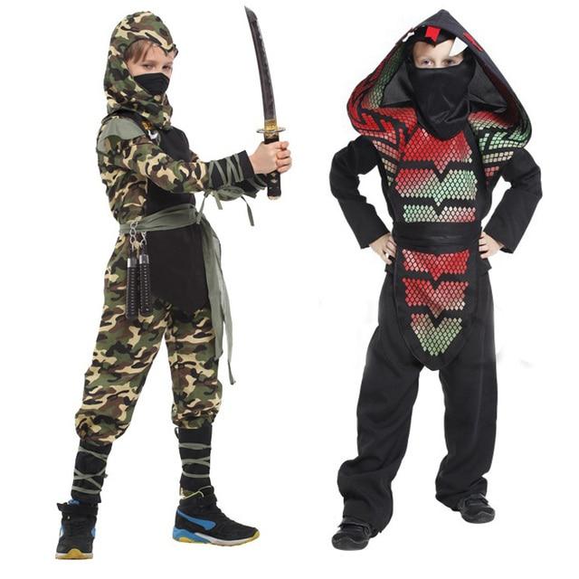Boys Kids Cobra Camo Ninja Assassin Japanese Samurai Warrior Fancy Dress Cosplay Costume  sc 1 st  AliExpress.com & Boys Kids Cobra Camo Ninja Assassin Japanese Samurai Warrior Fancy ...