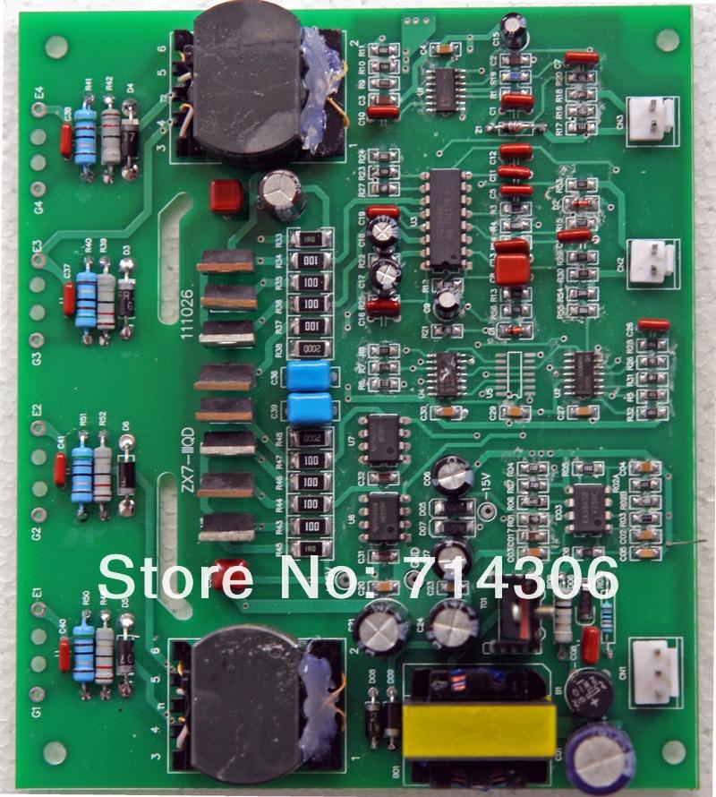 NBM - 400 mitmeotstarbelise masina juhtpaneeli sisaldab nelja tahvlit - Keevitusseadmed - Foto 4