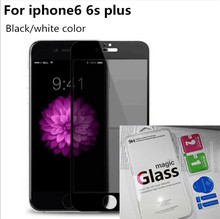 Anti Spying Quality Tempered Glass Screen Protector For Apple iPhone6 6s plus  9H Anti-shatter Privacy Protection Film