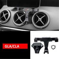 Support pour téléphone Mobile tournant de bâti de prise de puissance d'évent de voiture pour le support d'alliage d'aluminium de classe C de Mercedes Benz GLA GLC CLA C