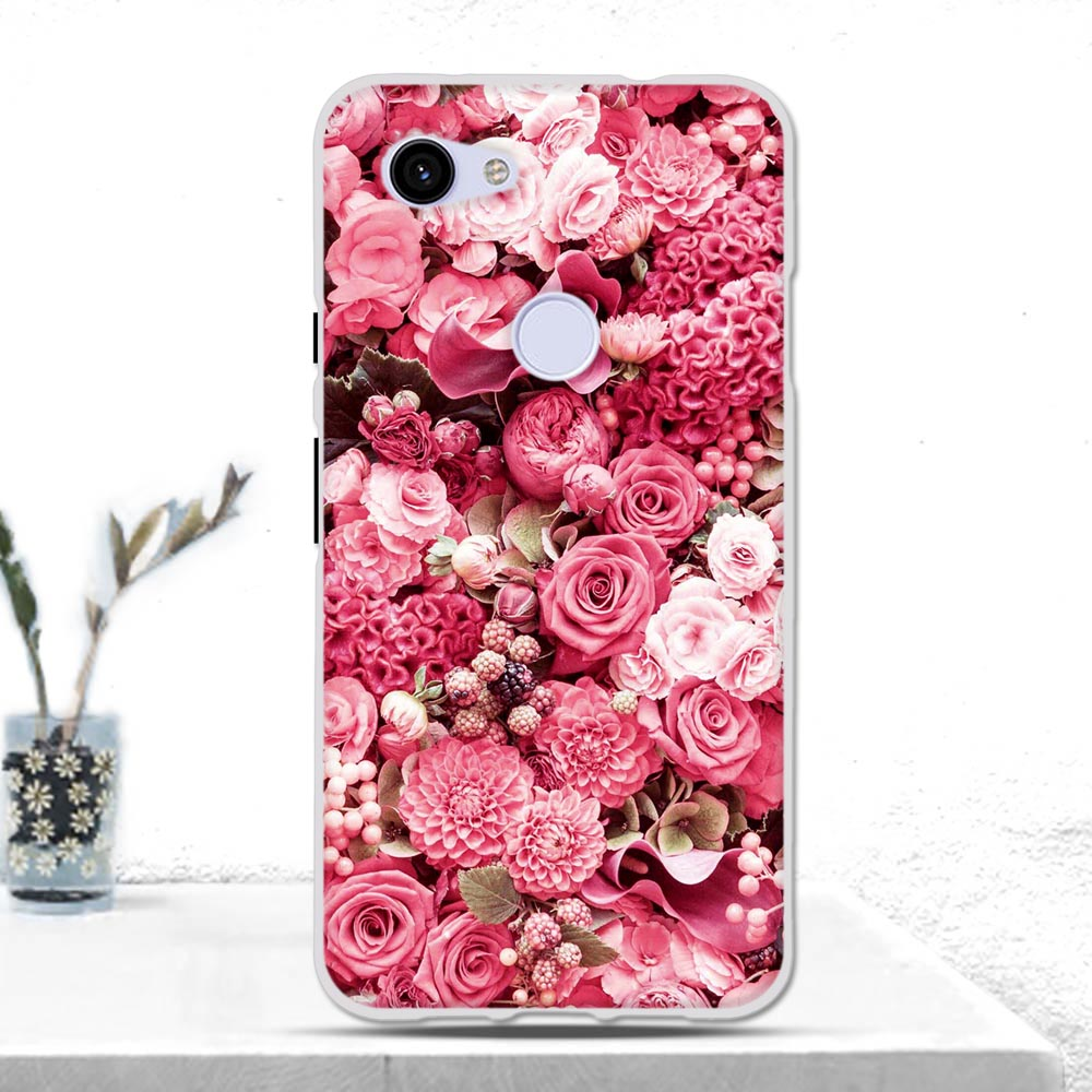 Luxury Cover For Google Pixel 3A Case Cover Soft TPU Silicone Back Cover For Google Pixel 3A Fundas For Google Pixel 3A Bumper