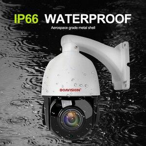 Image 2 - 1080P 4MP 5MP PTZ IP Camera Outdoor Onvif 30X ZOOM Waterproof Mini Speed Dome Camera 2MP H.264 IR 50M P2P CCTV Security Camera