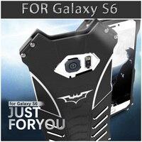 10 шт. для Samsung Бэтмен металлический чехол для телефона сбоку Бэтмен Кронштейн для Просо падение защиты чехол все включено Алюминий В виде ра...