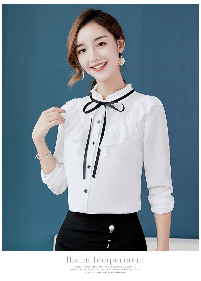 GVN Rocks Spring Elegant Korean Blouse