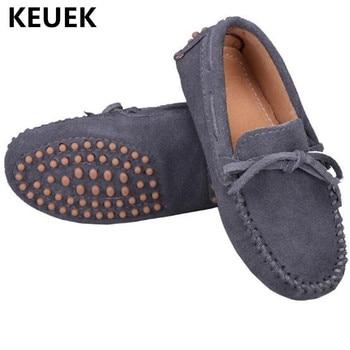 Nuevos Mocasines Para Niños Primaveraotoño Zapatos De Cuero