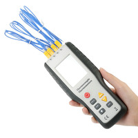 Handheld Thermocouple Sensor Digital 4 Channel Thermometer Temperature Meter K Type Thermocouple Sensor