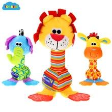 ToyBear плюшевые детские игрушки хобби Мобильный ребенок погремушки игрушки для ребенка запястье погремушки набор новорожденных игрушки для детей