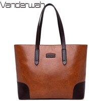 New Vintage Large Tote Leather Luxury Handbags Women Bags Designer Crossbody Bags For Women 2018 Sac A Main Femme Bolsa Feminina