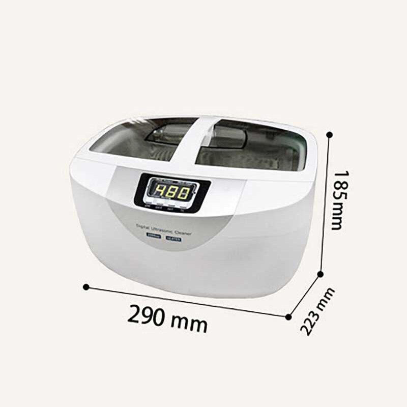 2.5L Digital Limpeza Ultra sônica 120 w Máquina de Limpeza Ultra sônica Relógio Jóias Equipamentos de Limpeza Profissional de Limpeza do Agregado Familiar - 4