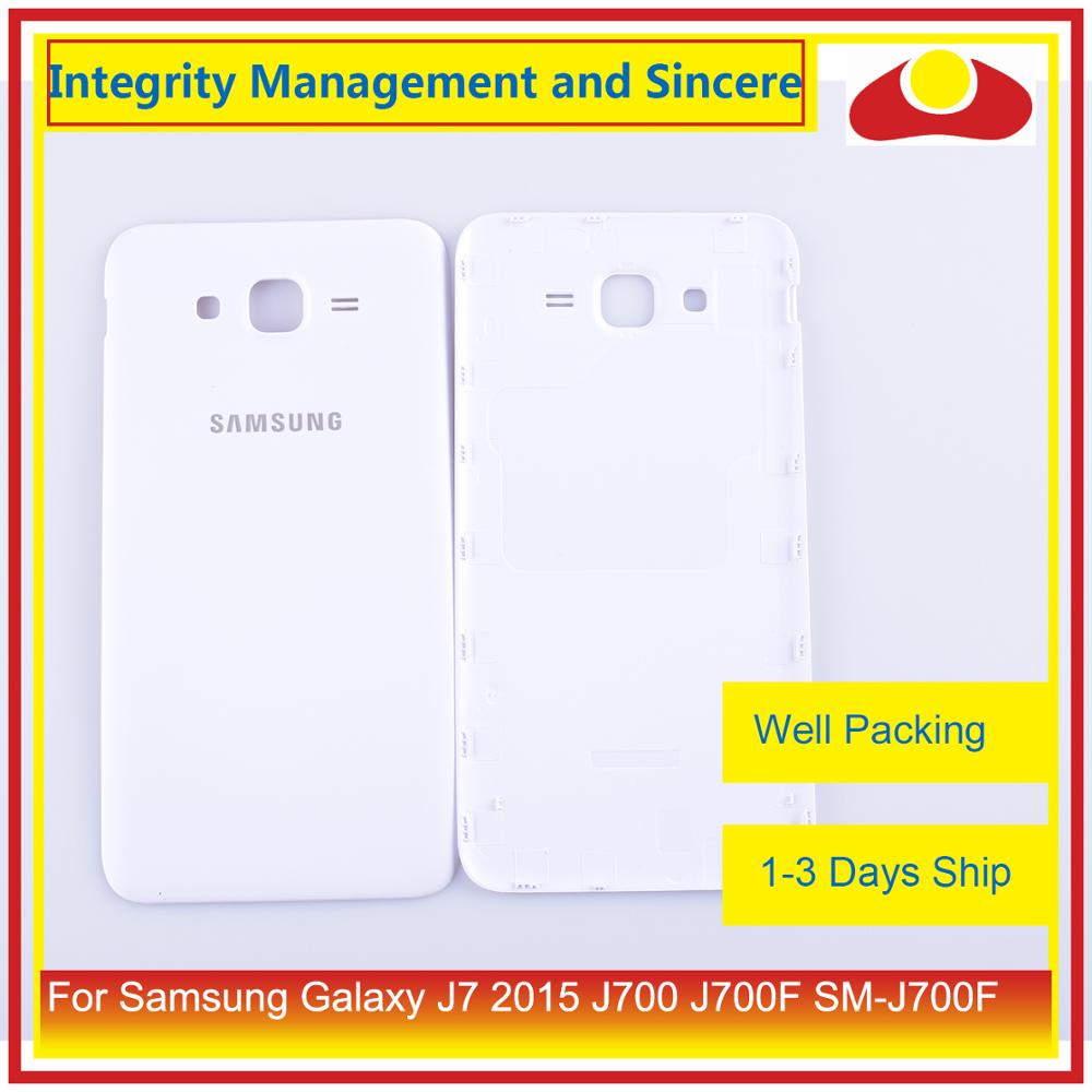 Image 3 - Original For Samsung Galaxy J7 2015 J700 J700F J700H J700M Housing Battery Door Rear Back Cover Case Chassis Shell-in Mobile Phone Housings & Frames from Cellphones & Telecommunications