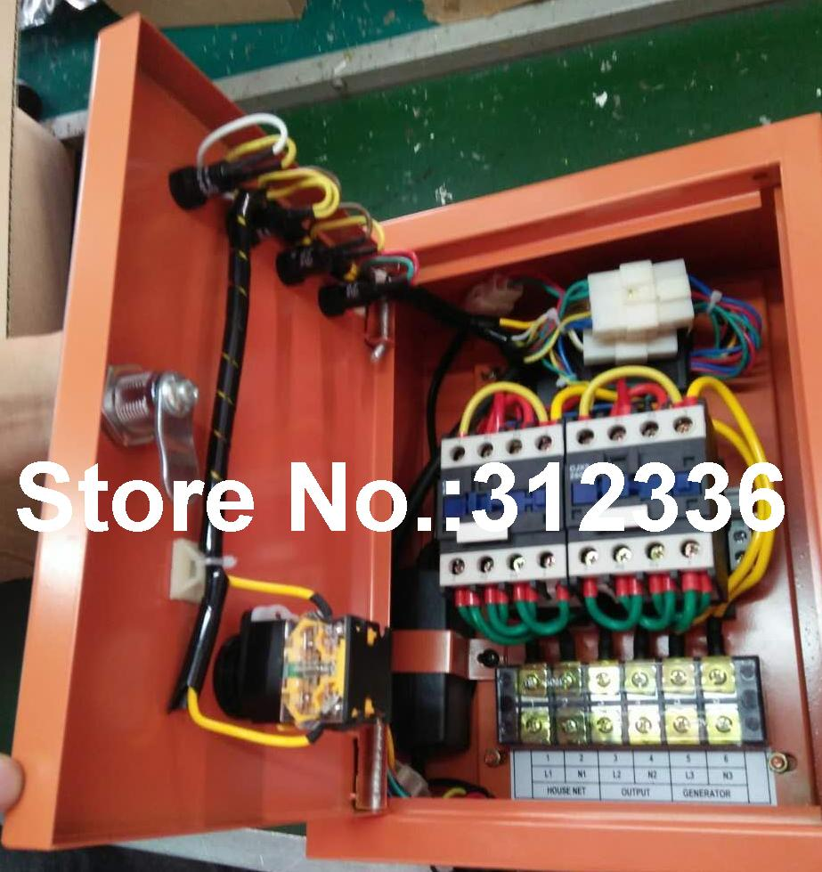 все цены на Fast Shipping 5 pins 10kW ATS Single Phase 220V Diesel Generator controller Automatic starting system Auto Start Stop Function онлайн