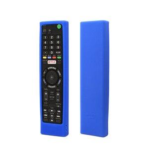 Image 3 - SIKAI מקרה סיליקון מקרה עבור SONY קול שלט רחוק RMF TX200 עבור Sony OLED חכם טלוויזיה מרחוק מקרה מגן מקרה עבור מרחוק