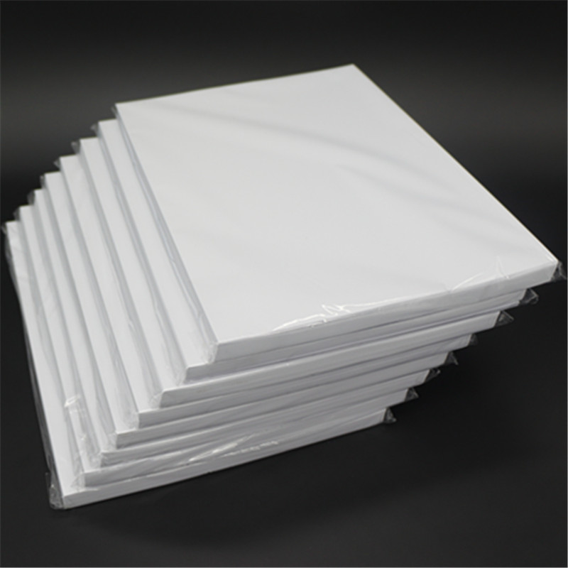115 g einseitig glänzendes Fotopapier A4 * 100 Blatt für - Papier - Foto 2