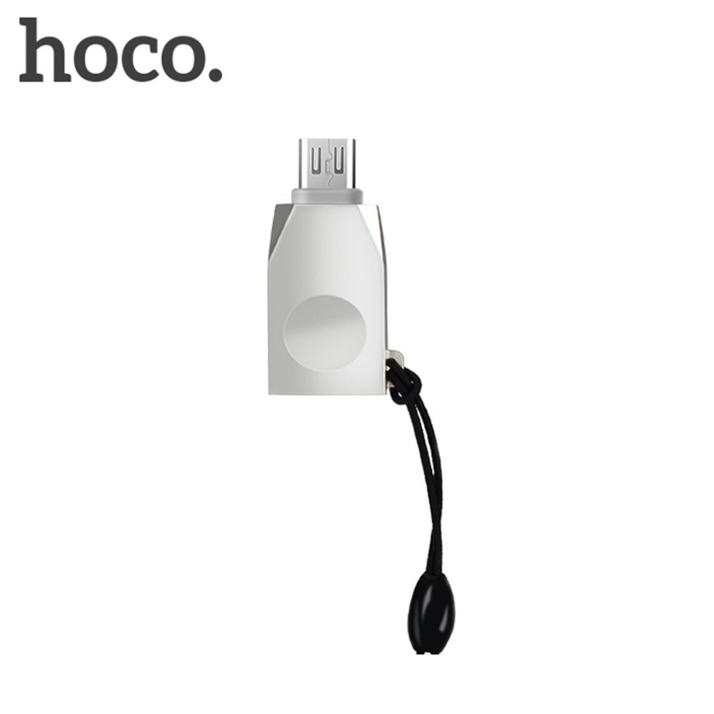 HOCO UA10 Small Size Micro USB OTG Adapter Portable Size Female to Male OTG Converter for Tablet Android Smartphones