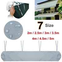 2/2.5/3.0/3.5/4/4.5/5m 7 Sizes Patio Awning Winter Storage Bag Yard Garden Shelters Rain Weather Cover Protector Sun Canopies|Shade Sails & Nets| |  -