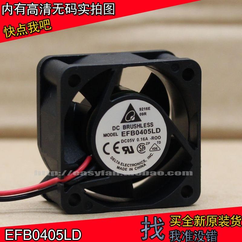 brand new DELTA EFB0405LD 4020 4cm 5V 0.16A switch Server cooling fan