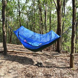 Image 3 - חיצוני קמפינג ערסל עם רשת יתושים באג נטו תליית נדנדה שינה מיטת עץ אוהל חיצוני כלים