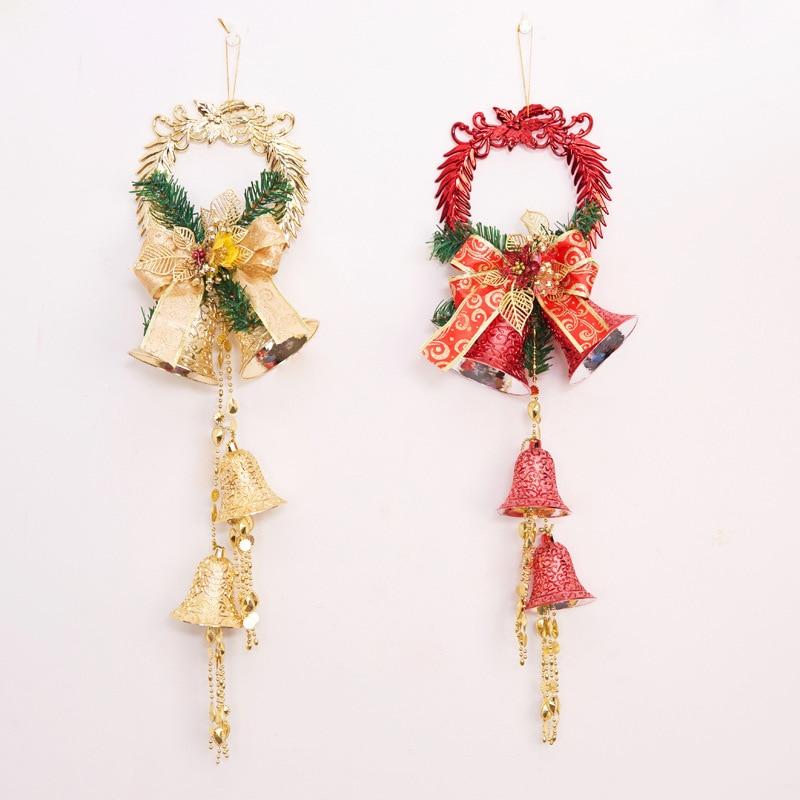Christmas decorations, large Christmas bells, dragon bells ...