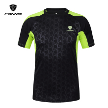 LINGSAI shirt men soccer jerseys 2017 New Mens t-shirt casual quick dry sports t Short Sleeve tshirt