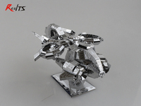 3D Puzzle Metal 3d Model Assembled For Children Metal Puzzles DIY Intellectual Stitching Toys Thunder Hawk