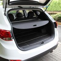BBQ@FUKA 1x Car Rear Tail Cargo Trunk Shade Cover Shield Black For Hyundai IX35 2010 2015