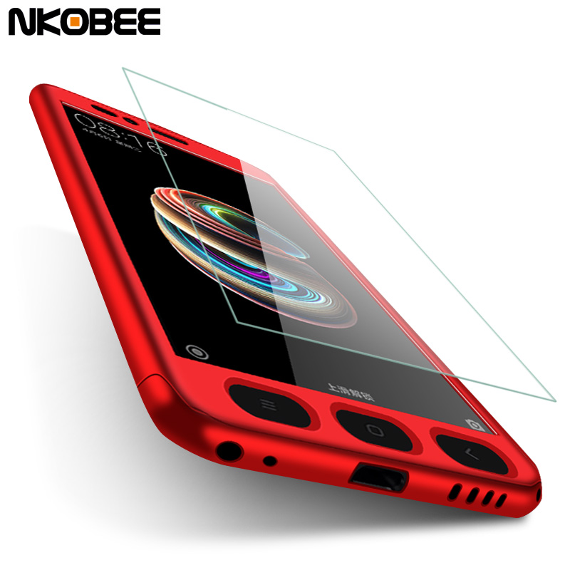 huge selection of 009ef dfc04 US $4.94  NKOBEE Mi A1 Case Cover For Xiaomi Mi A1 Case 360 Armor Full  Protection Hard With Glass Case For Xiaomi Redmi Note 5A 4X Mi 5X-in Fitted  ...