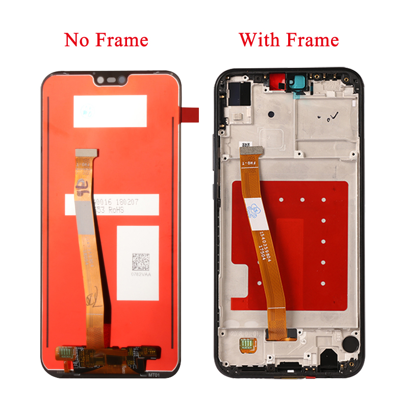 Original For Huawei P20 Lite /Nova 3E LCD Display Touch Screen Digitizer Frame Assembly Replacement