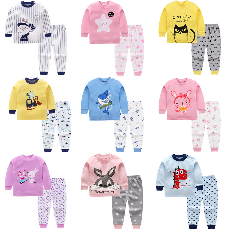 kids Cartoon baby boys clothes Long sleeve newborn baby clothing Autumn winter cotton boys Top +pant 2pcs baby boy clothes Set baby boys clothes toddler kid long sleeve dinosaur hooded sweatshirt top long pant sportswear outfit 2pcs kids clothing sets