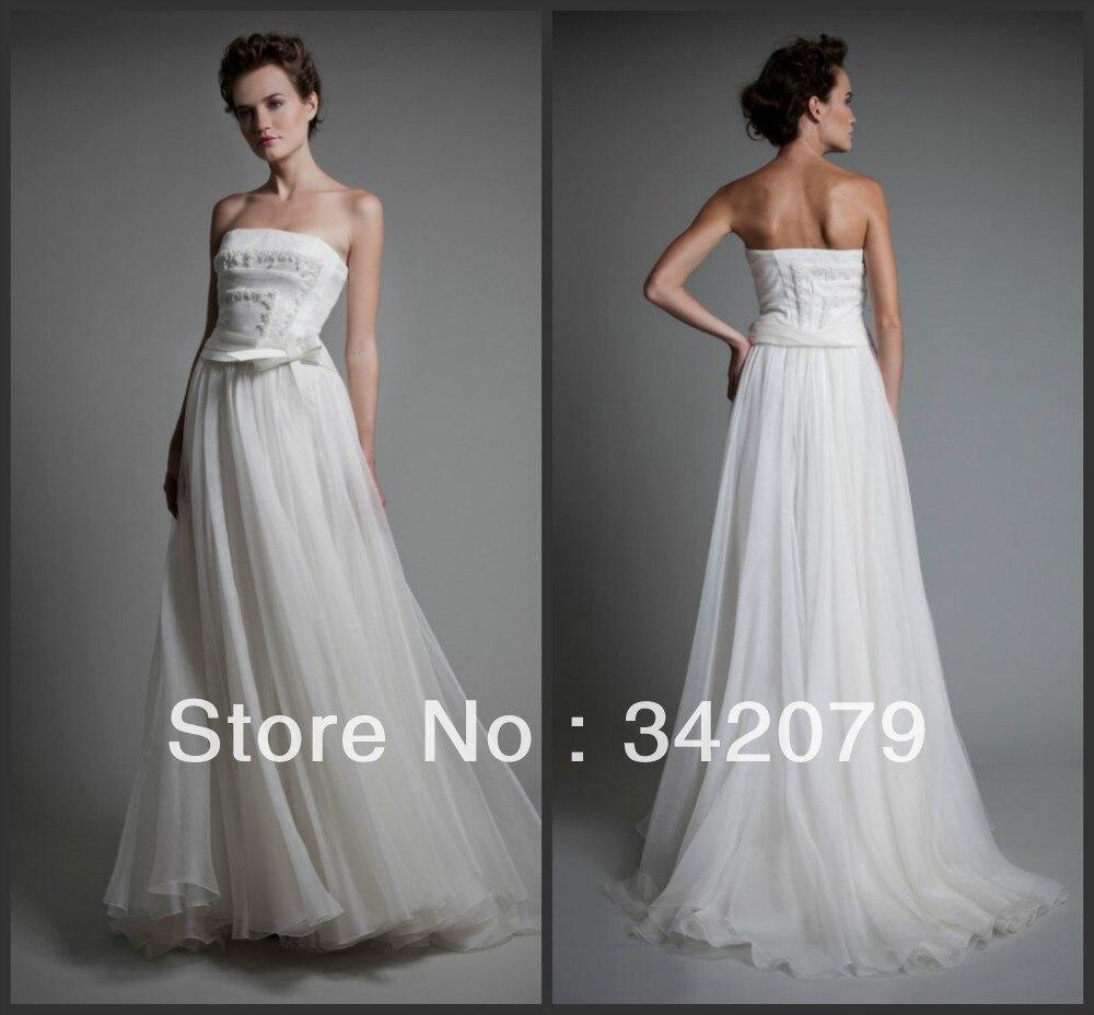 ph09511 haute couture tony ward ethereal robe de marie en gazar architectural corsage ajust robe de marie en dentelle - Robe Charleston Mariage