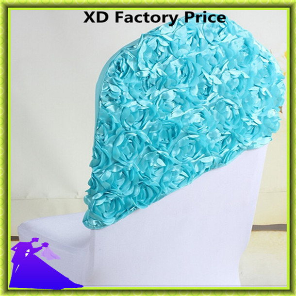 Marious Brand Free shipping colorful wedding chair hood with tgood quality for wedding party decoration