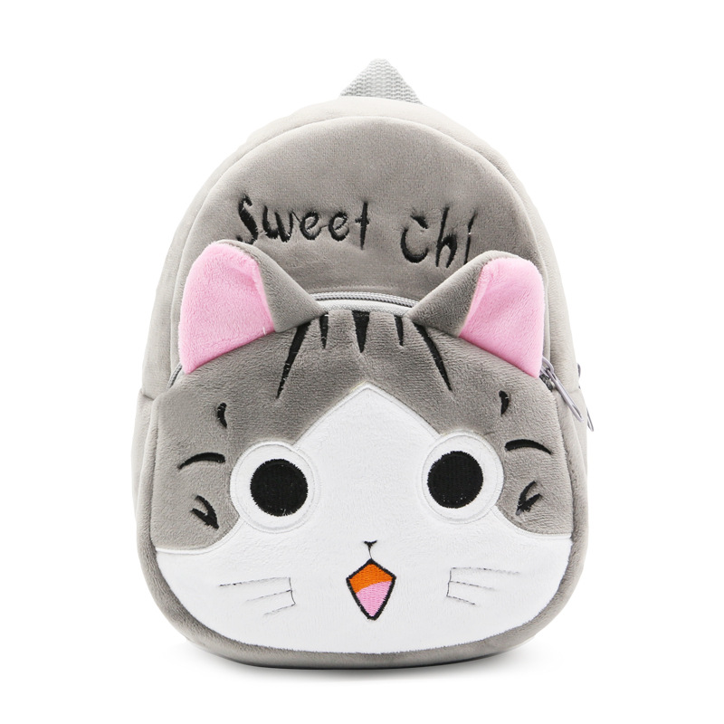 <font><b>Kids</b></font> cartoon Chi's Sweet Home Cat <font><b>backpack</b></font> kindergarten children cute <font><b>school</b></font> bag baby girls schoolbag mochila gift good quality image