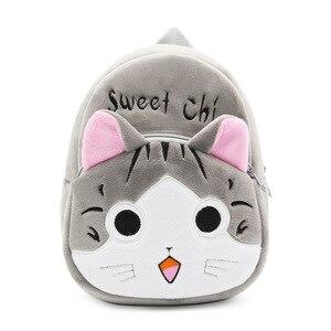 Kids cartoon Chi's Sweet Home Cat backpack kindergarten children cute school bag baby girls schoolbag mochila gift good quality(China)