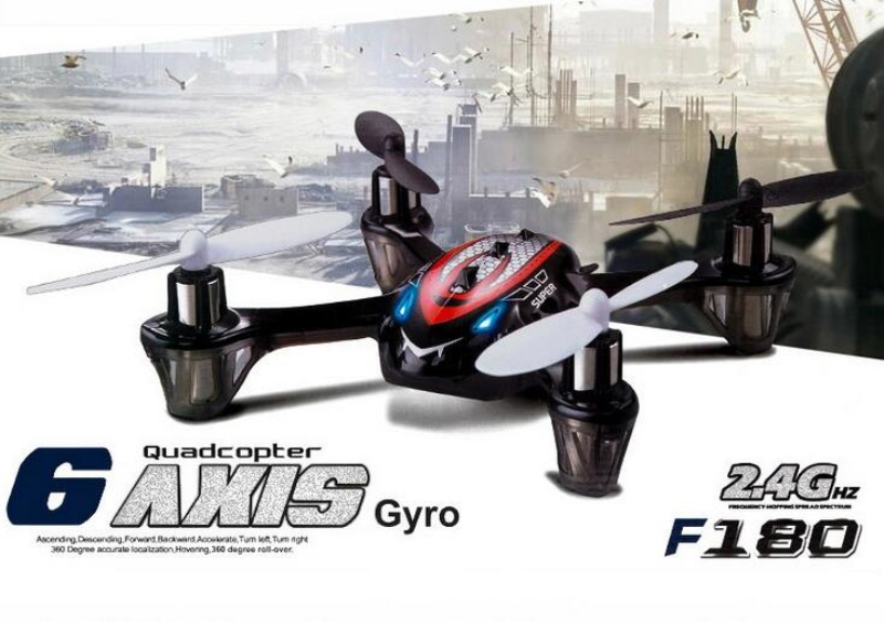Mini rc drone F180 2.4GHz 4ch 6axis RC micro Quadcopter toy radio control quadcopter RTF UFO remote control model for child gift
